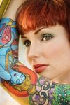 Дизайн женских татуировок-рукавов