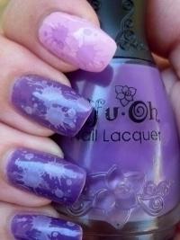 Разноцветный дизайн ногтей
