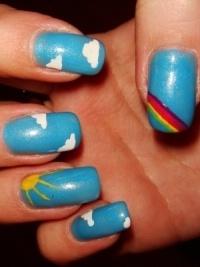 Красочный дизайн ногтей, который стоит попробовать