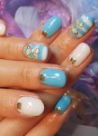 Женственный дизайн ногтей