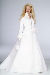 Зимний наряд для невесты