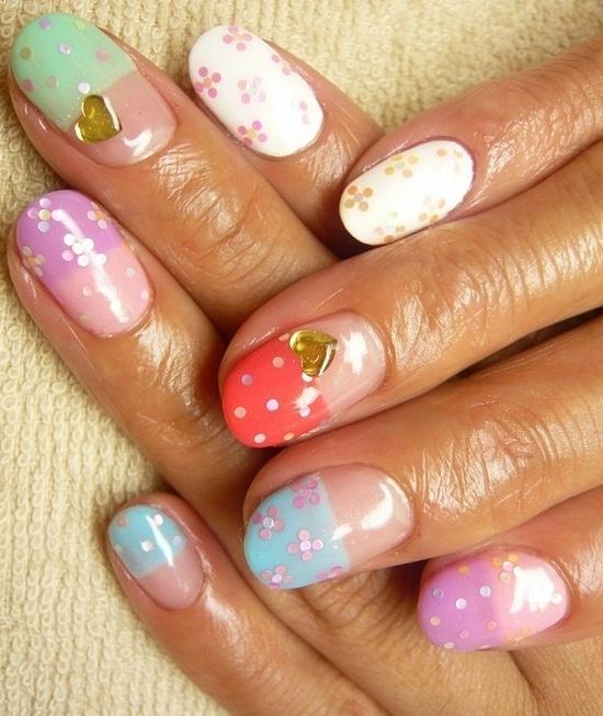 Как сделать ногти объемными 40