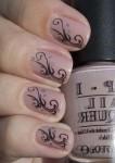 Модный и простой дизайн ногтей