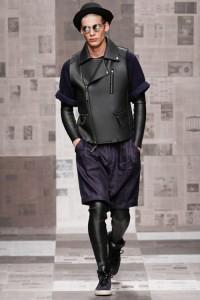 Меггингсы — новый тренд мужской моды. Коллекция Robert Geller весна 2013