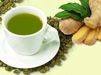 Зеленый кофе с имбирем помогает похудеть