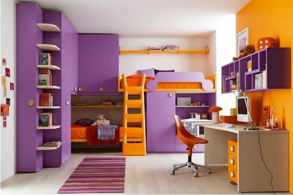 Кровать-чердак для ребенка – отличное решение для маленькой комнаты