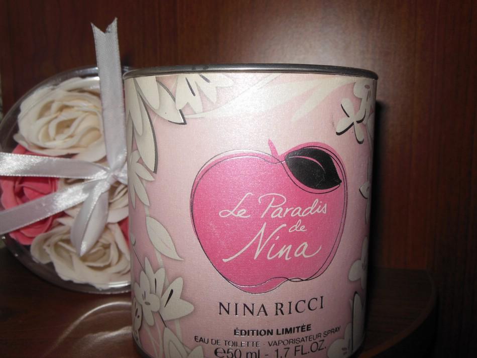 Туалетная вода Le Paradis de Nina от Nina Ricci. Отзыв