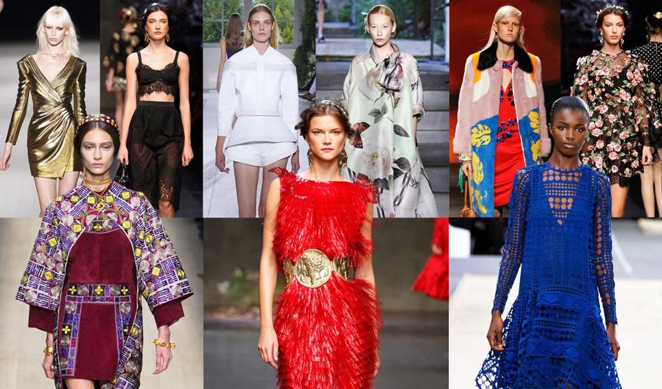 Весенние модные тенденции