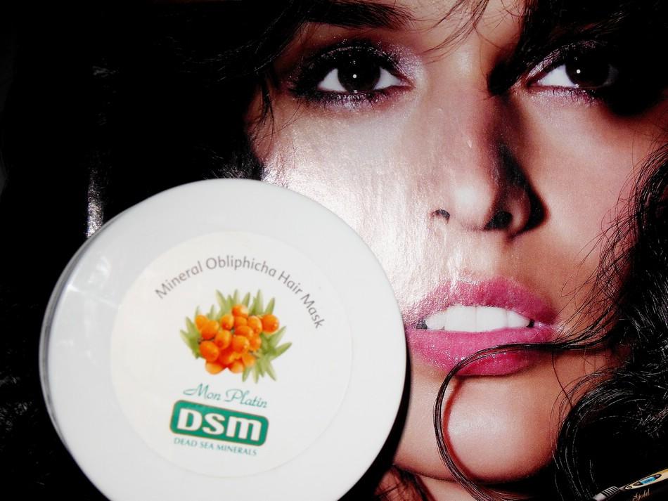 Маска для волос Mon Platin DSM на основе облепихового масла. Отзыв