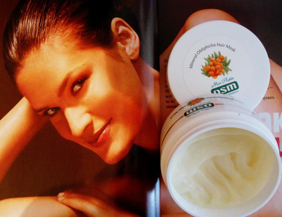 Маска для волос Mon Platin DSM на основе облепихового масла