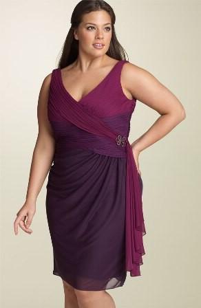 Модные тенденции для полных дам