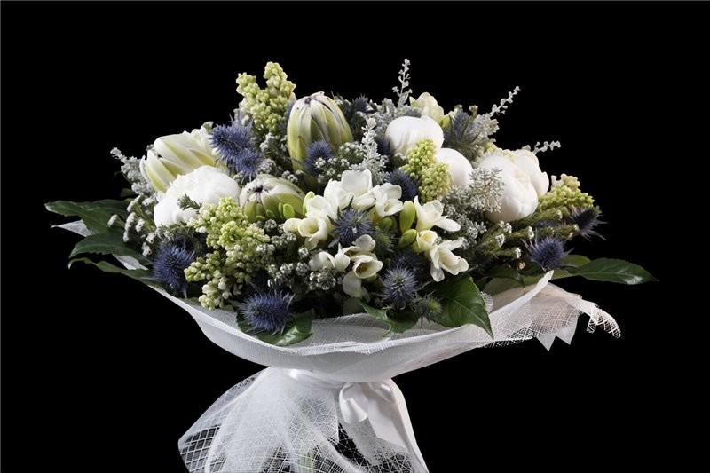 Букет цветов для выпускника