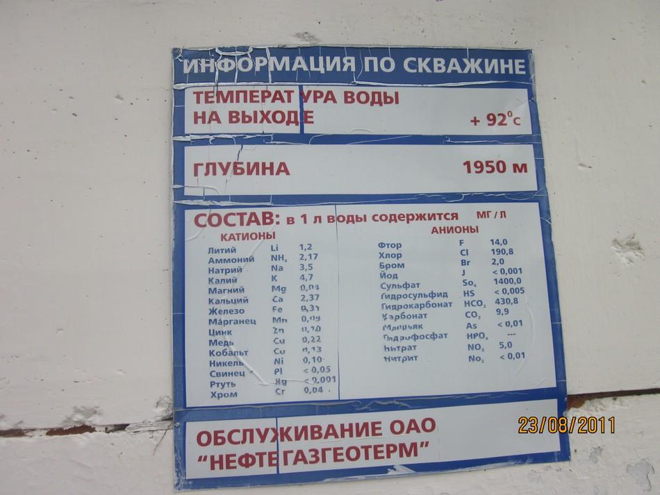 Горячие источники в поселке Мостовском Краснодарского края