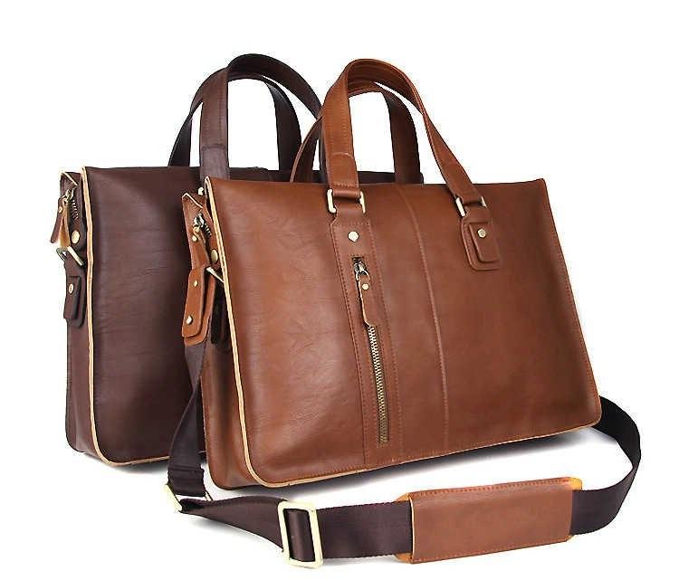 Кожаная сумка – аксессуар современного мужчины