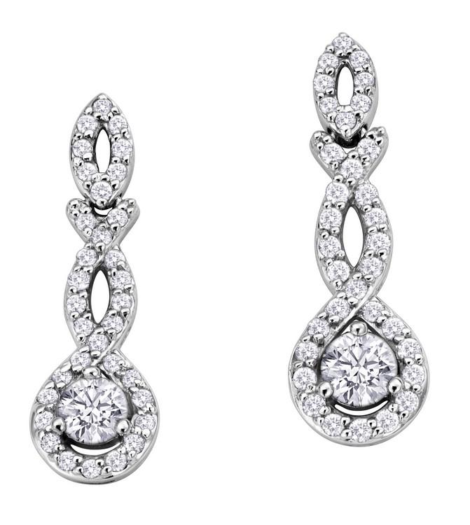 Критерии выбора сережек с бриллиантами