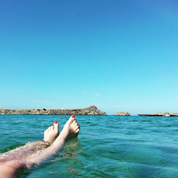 бухта Линдос, остров Родос, Греция