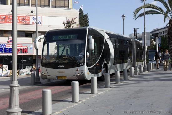 автобус в Израиле