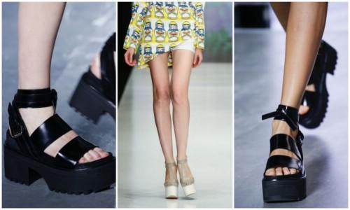 Модная летняя женская обувь