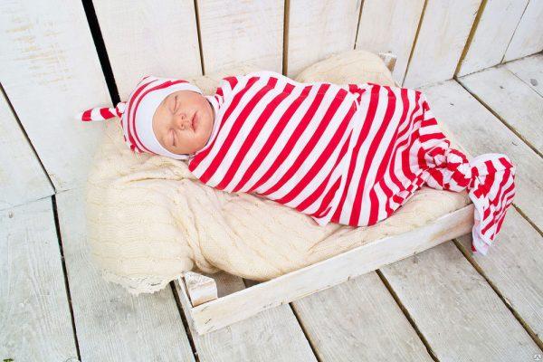 Пеленка-кокондля новорождённых