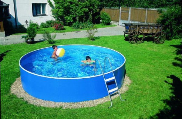 Как установить надувной бассейн на даче