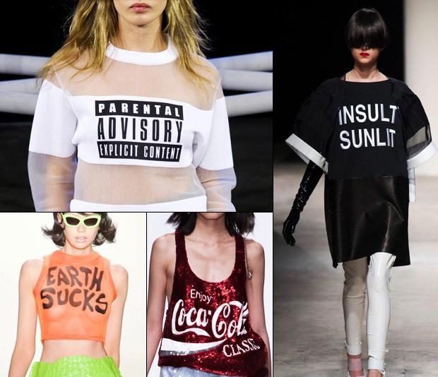 Модный тренд 2014  надписи и слоганы на одежде 803785b2c47
