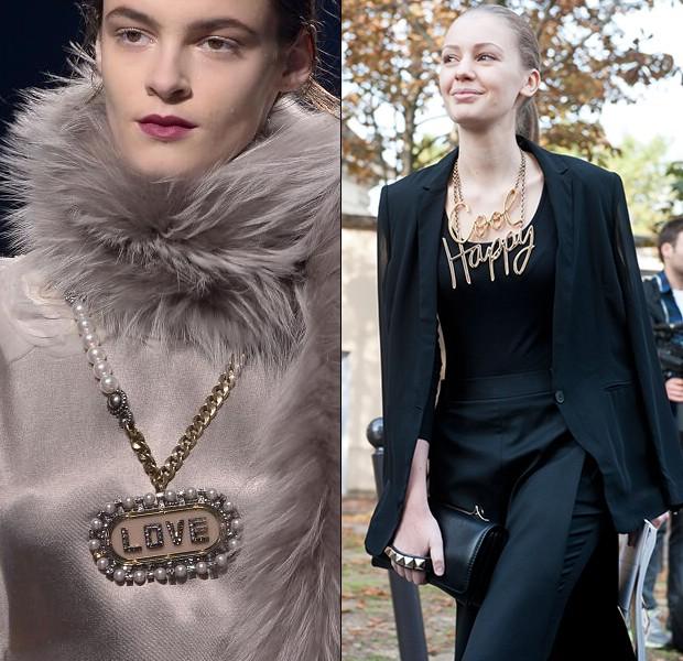 Модный тренд 2014: надписи и слоганы на одежде - photo#45