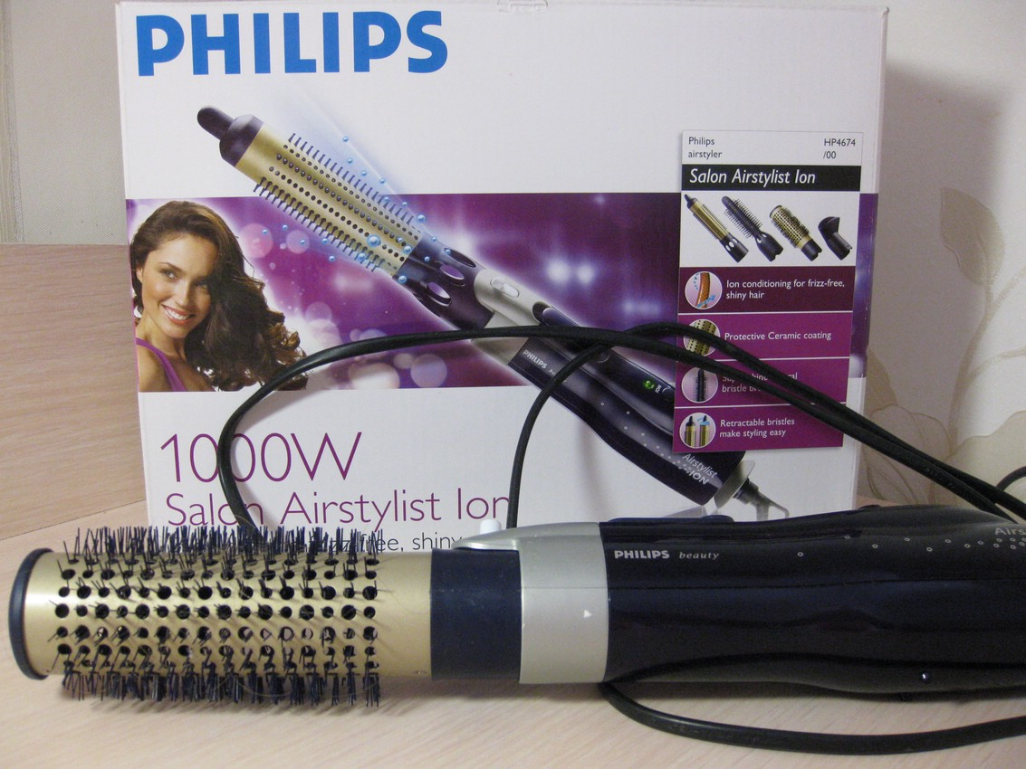 Плойка-фен Philips Salon Airstylist Ion 1000W