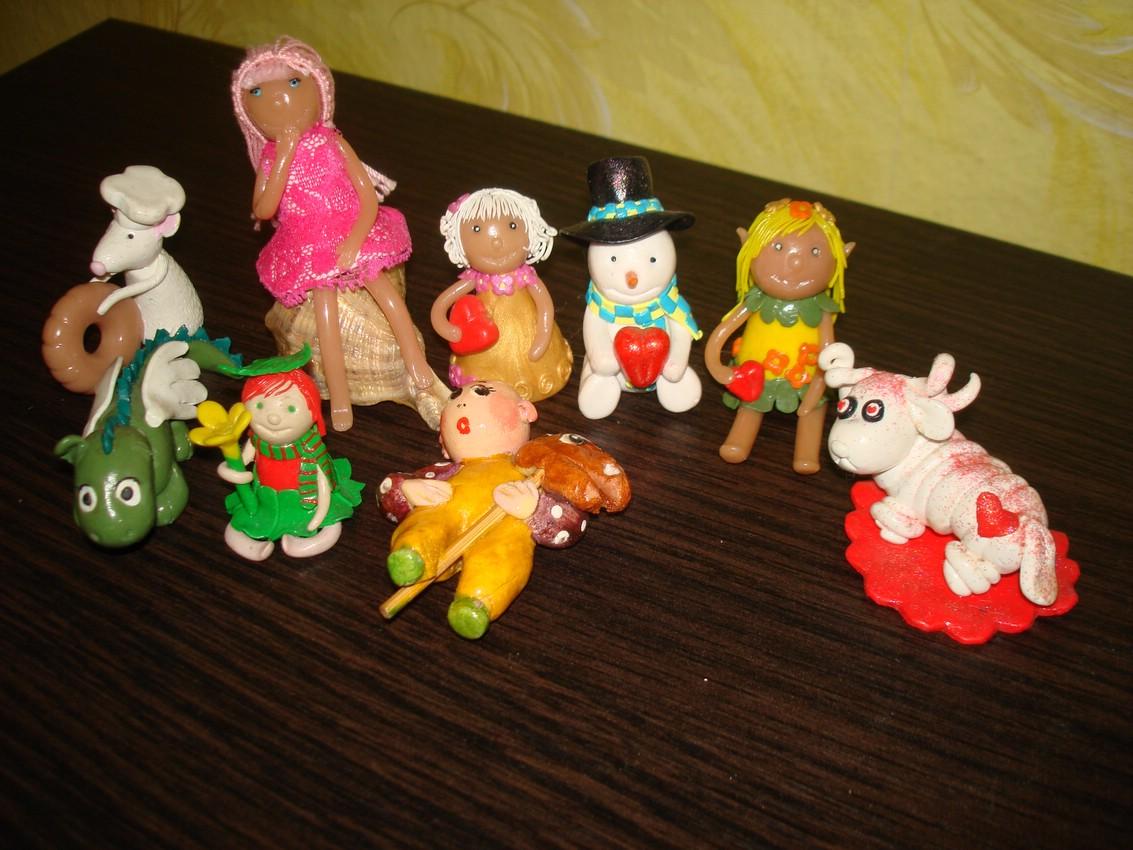 Фигурки принцесс своими руками фото 836