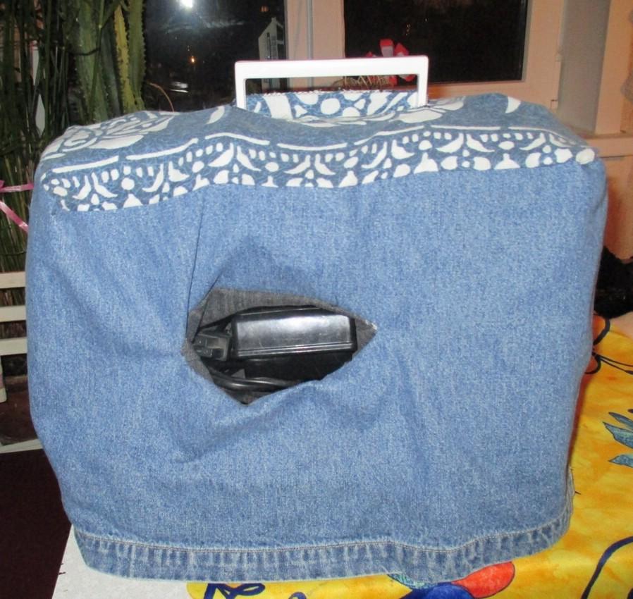 Как сшить чехол для швейный машине 13