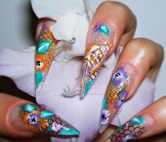 Ногти в стиле