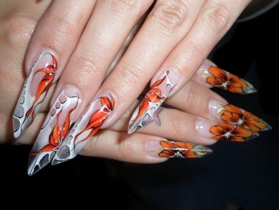 milano with long nails wallpaper - photo #26