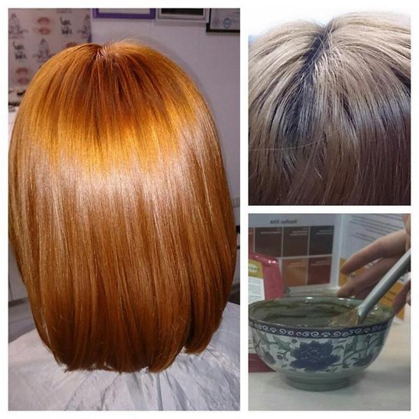 окрашивание волос после использования хны фото правило
