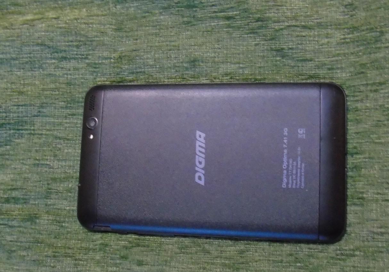 DIGMA планшетный компьютер Optima 7.41 3G. Отзыв