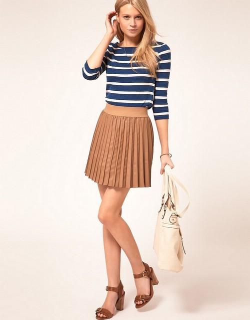 Какие юбки носить с худыми ногами