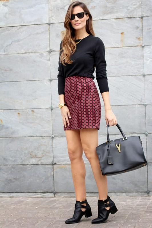 ad809c372d5 Можно ли носить мини юбку ранней осенью