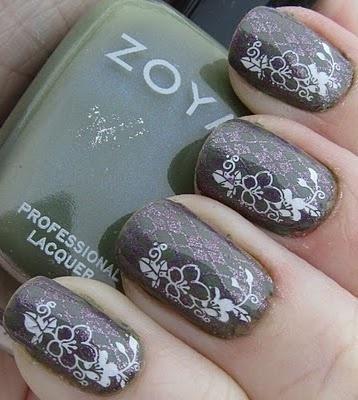 Идеи декора ногтей со штампами