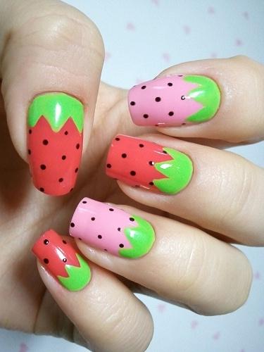Красочные идеи дизайна ногтей 2012