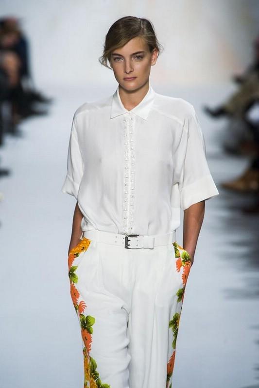 Белая Блузка Модная