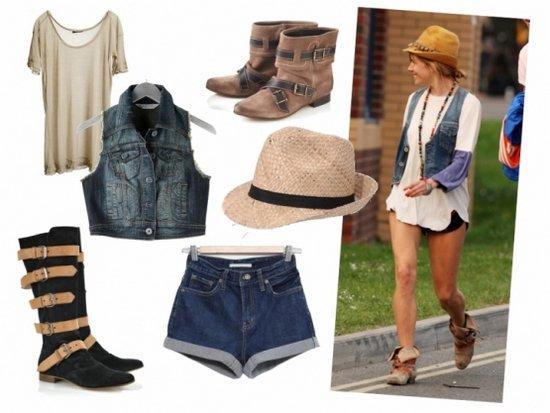 С чем носить летние сапоги, ботинки и ботинки-сандалии