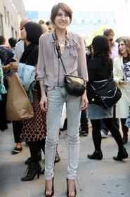 Облегающие джинсы длиной до лодыжки