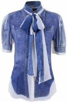 Модные рубашки с высоким воротником