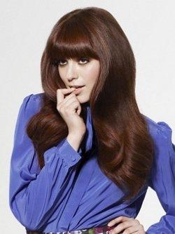 Стильные волнистые прически для длинных волос