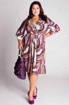 Платья для пышных женщин