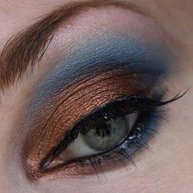Сексуальный макияж глаз