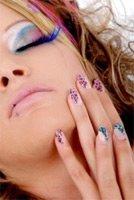 Анималистичные узоры на ногтях