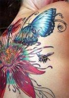 Женственные татуировки